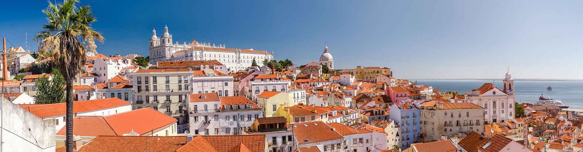 Lissabon – Hostels im Stadtteil Alfama. Lissabon auf der Karte. Fotos und Bewertungen für jedes Hostel in Lissabon.