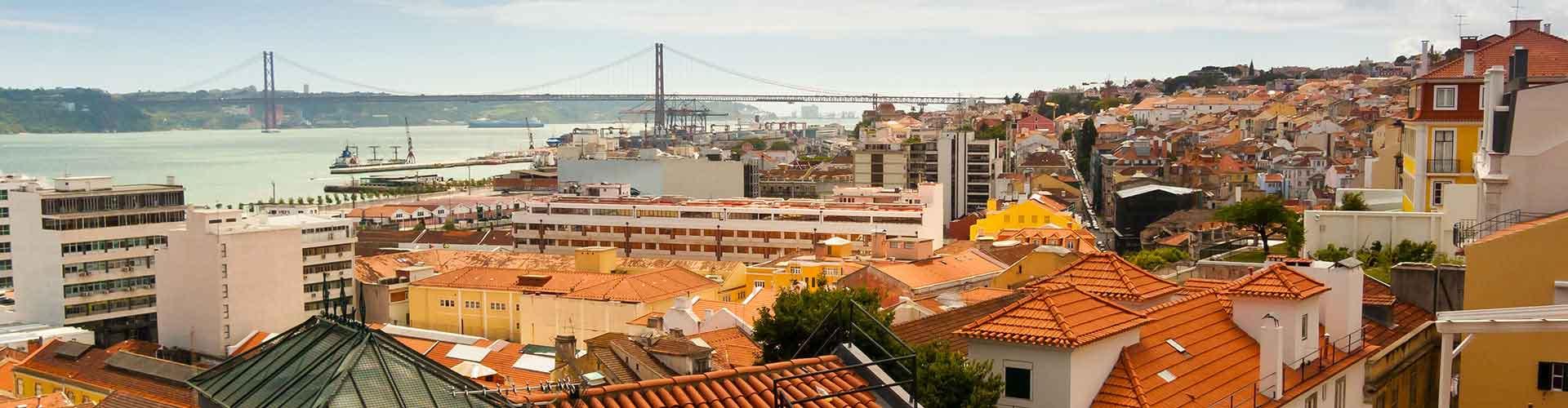 Lissabon – Hostels im Stadtteil Bairro Alto. Lissabon auf der Karte. Fotos und Bewertungen für jedes Hostel in Lissabon.