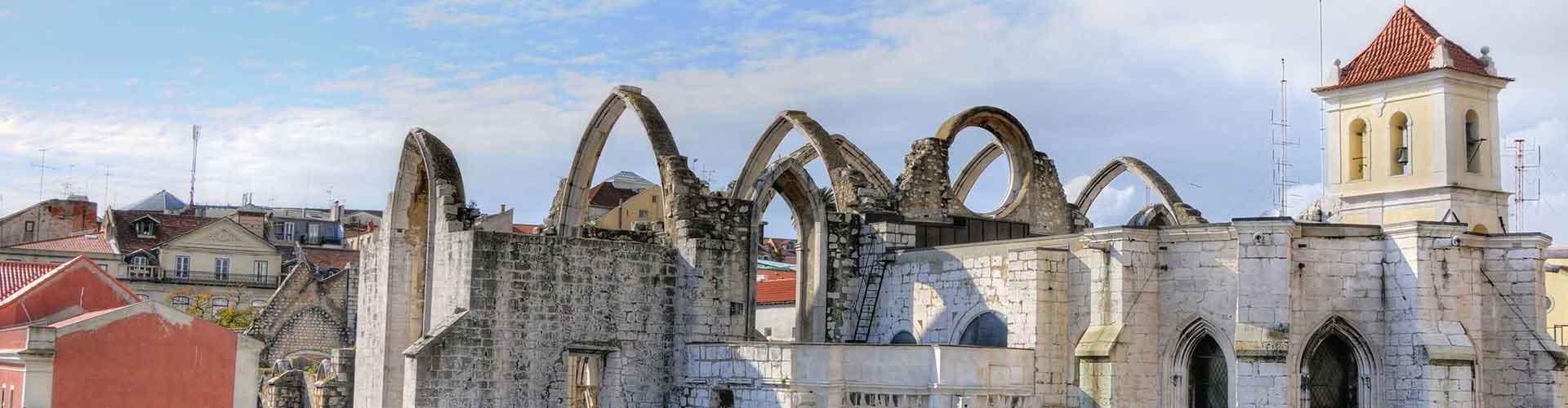 Lissabon – Hostels in der Nähe von Kloster Carmo. Lissabon auf der Karte. Fotos und Bewertungen für jedes Hostel in Lissabon.