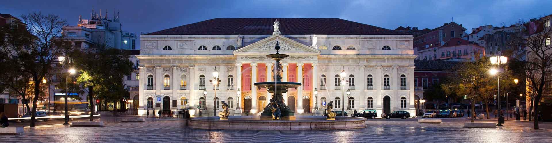 Lissabon – Hostels in der Nähe von Rossio mit Teatro Nacional D. Maria II. Lissabon auf der Karte. Fotos und Bewertungen für jedes Hostel in Lissabon.