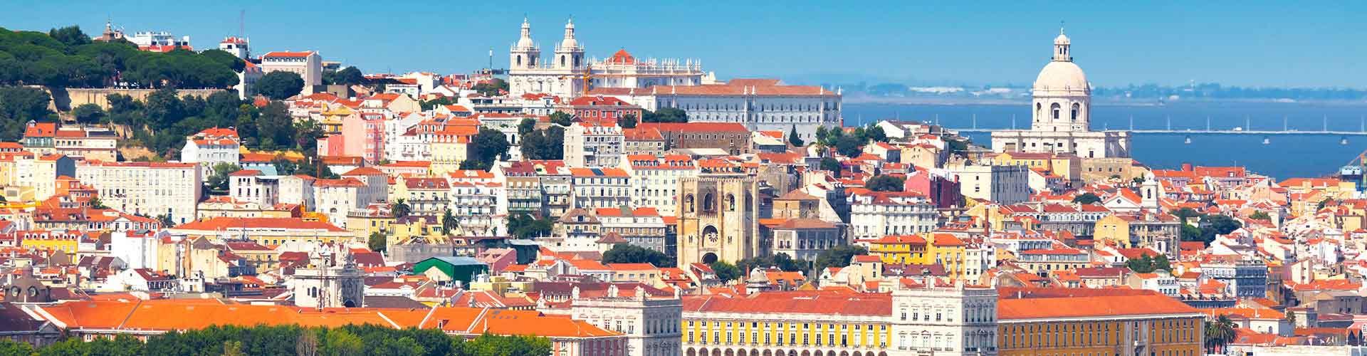 Lissabon – Hostels im Stadtteil Sé. Lissabon auf der Karte. Fotos und Bewertungen für jedes Hostel in Lissabon.