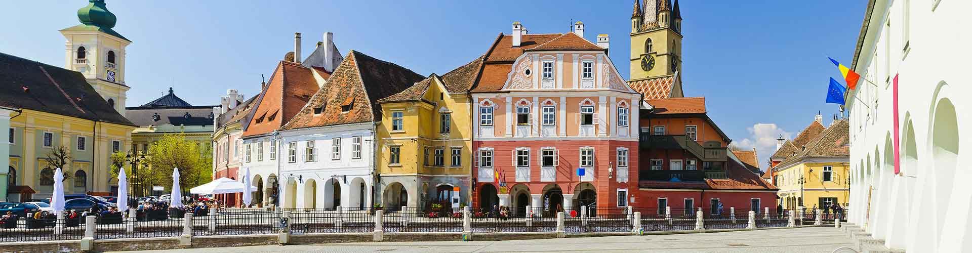 Sibiu – Hostels in Sibiu. Sibiu auf der Karte. Fotos und Bewertungen für jedes Hostel in Sibiu.