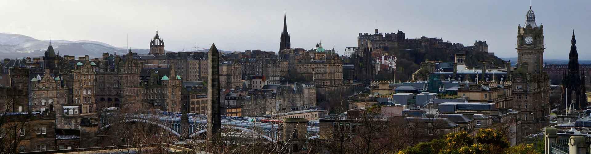 Edinburgh – Hostels im Stadtteil Dean. Edinburgh auf der Karte. Fotos und Bewertungen für jedes Hostel in Edinburgh.