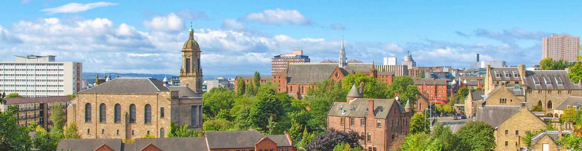 Glasgow – Hostels in der Nähe von Glasgow Hauptbahnhof. Glasgow auf der Karte. Fotos und Bewertungen für jedes Hostel in Glasgow.