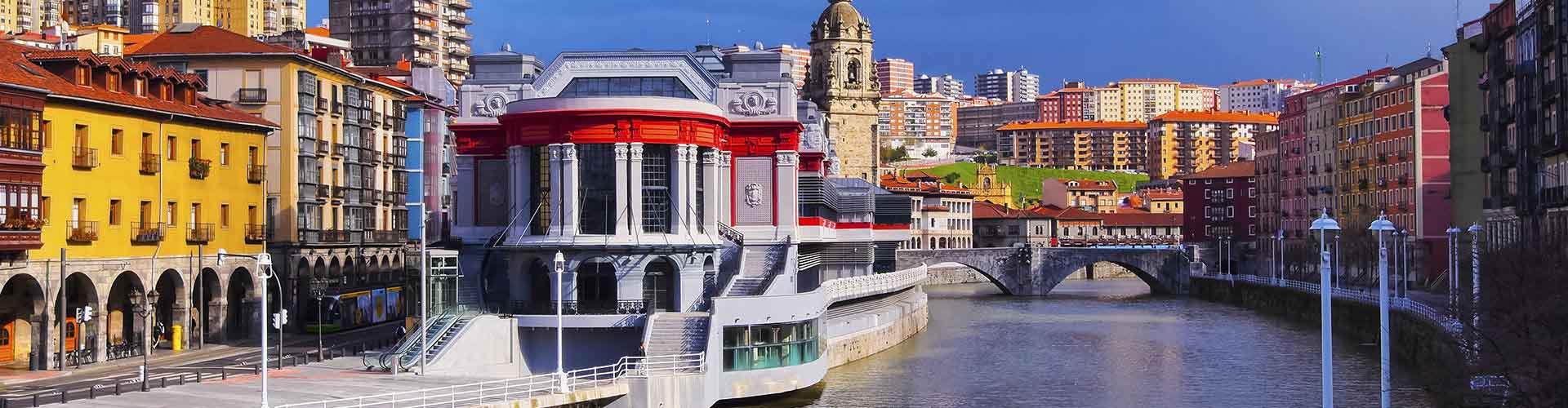 Bilbao - Apartments nahe Stadtzentrum. Bilbao auf der Karte. Fotos und Bewertungen für jedes Apartment in Bilbao.