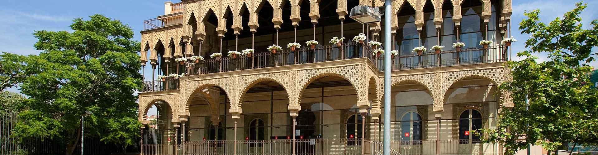 Barcelona – Hostels im Stadtteil Horta-Guinardò. Barcelona auf der Karte. Fotos und Bewertungen für jedes Hostel in Barcelona.