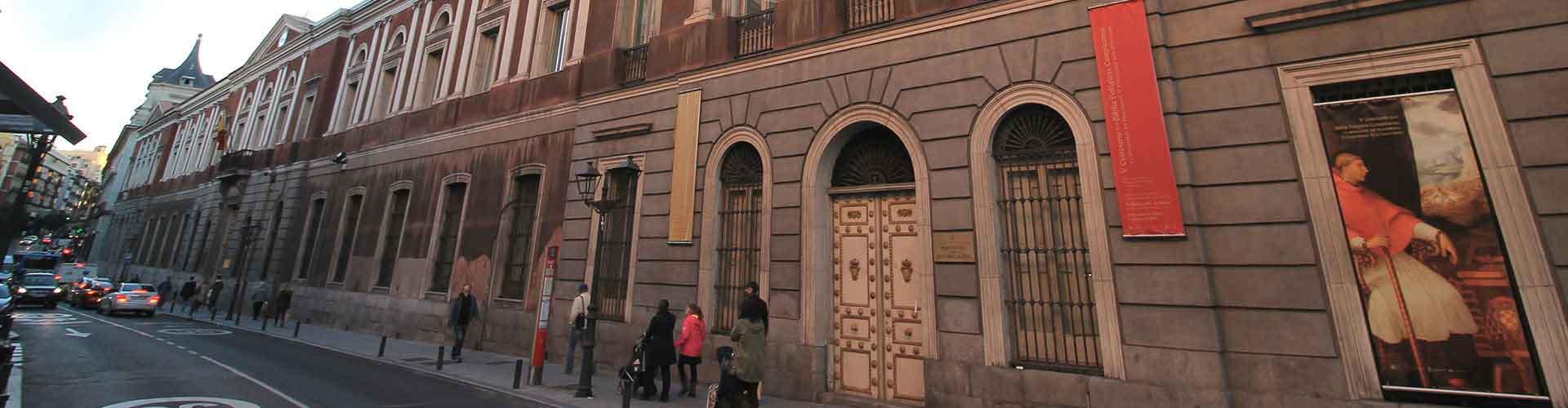 Madrid – Hostels im Stadtteil Universidad. Madrid auf der Karte. Fotos und Bewertungen für jedes Hostel in Madrid.