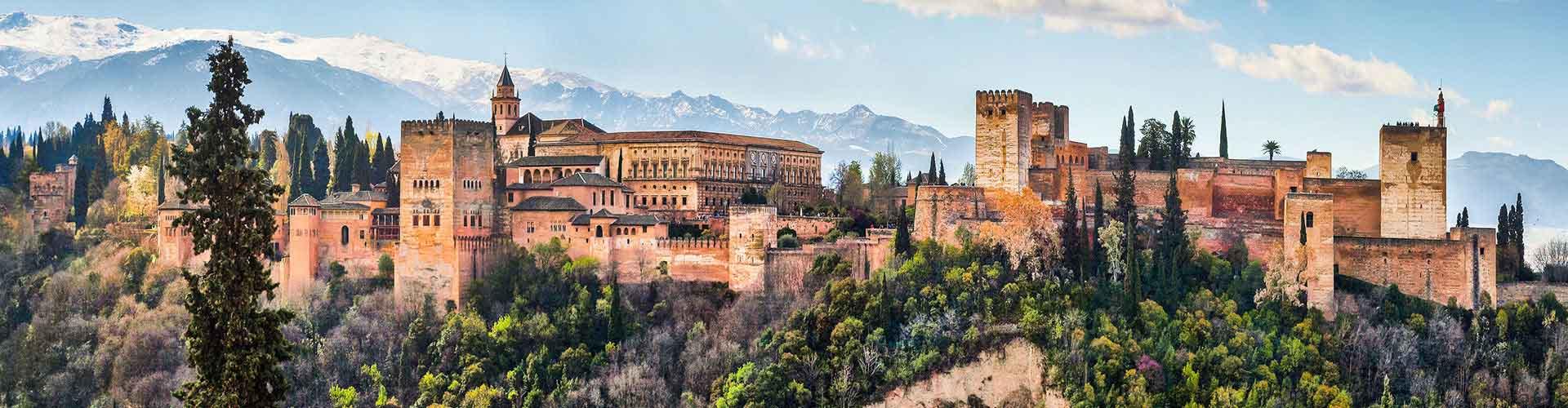 Granada - Hostels nahe Stadtzentrum. Granada auf der Karte. Fotos und Bewertungen für jedes Hostel in Granada.