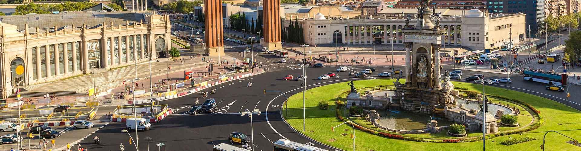 Barcelona - Apartments nahe Stadtzentrum. Barcelona auf der Karte. Fotos und Bewertungen für jedes Apartment in Barcelona.