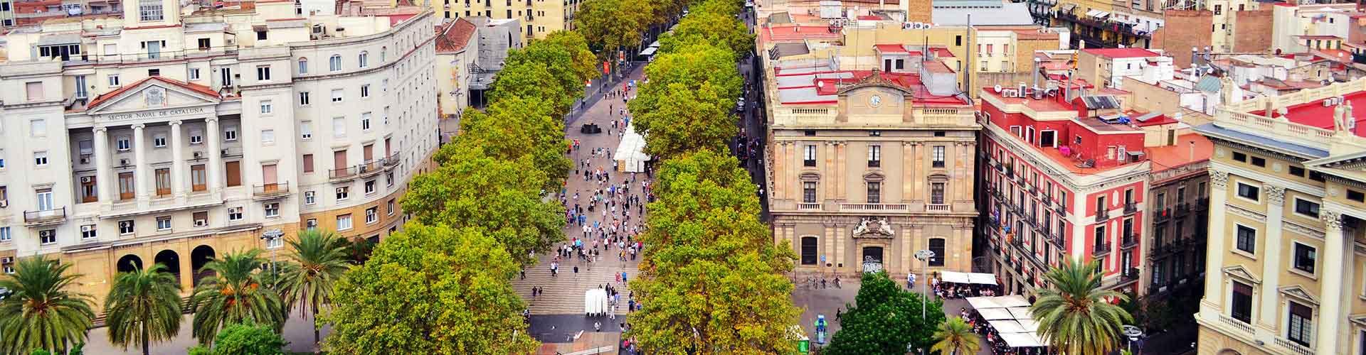 Barcelona – Hostels in der Nähe von Las Ramblas. Barcelona auf der Karte. Fotos und Bewertungen für jedes Hostel in Barcelona.