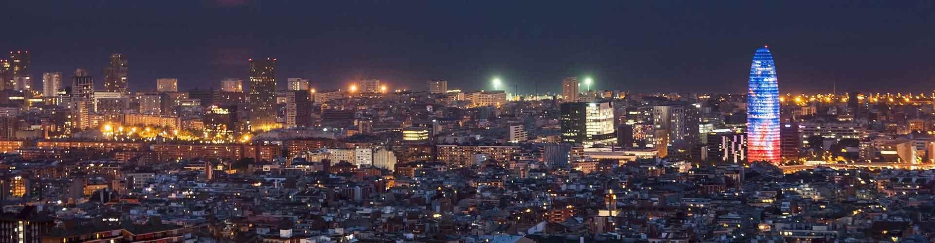 Barcelona – Hostels in der Nähe von Torre Agbar. Barcelona auf der Karte. Fotos und Bewertungen für jedes Hostel in Barcelona.