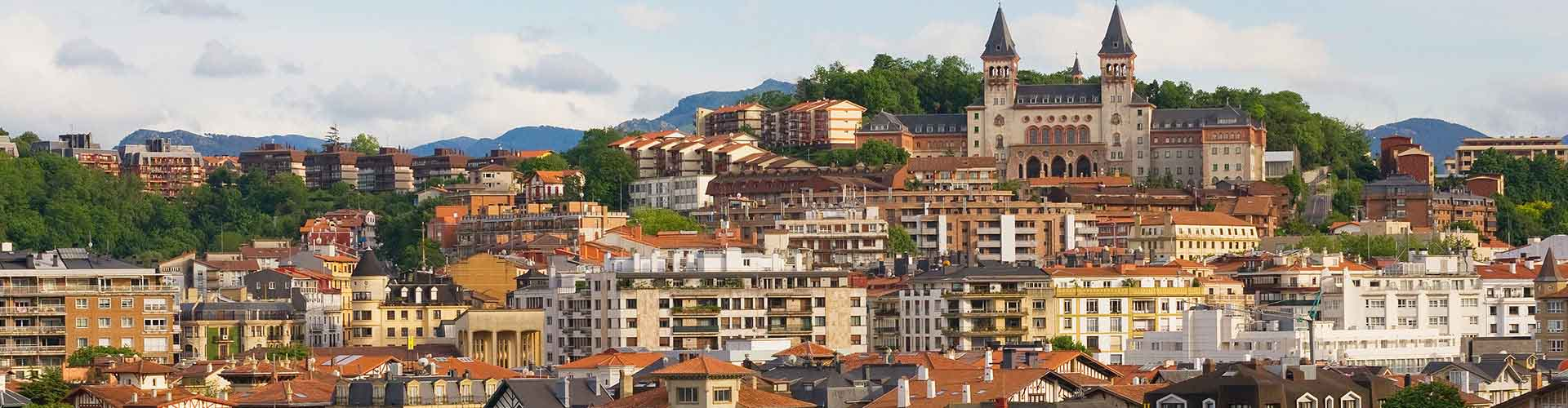San Sebastian - Apartments nahe Stadtzentrum. San Sebastian auf der Karte. Fotos und Bewertungen für jedes Apartment in San Sebastian.