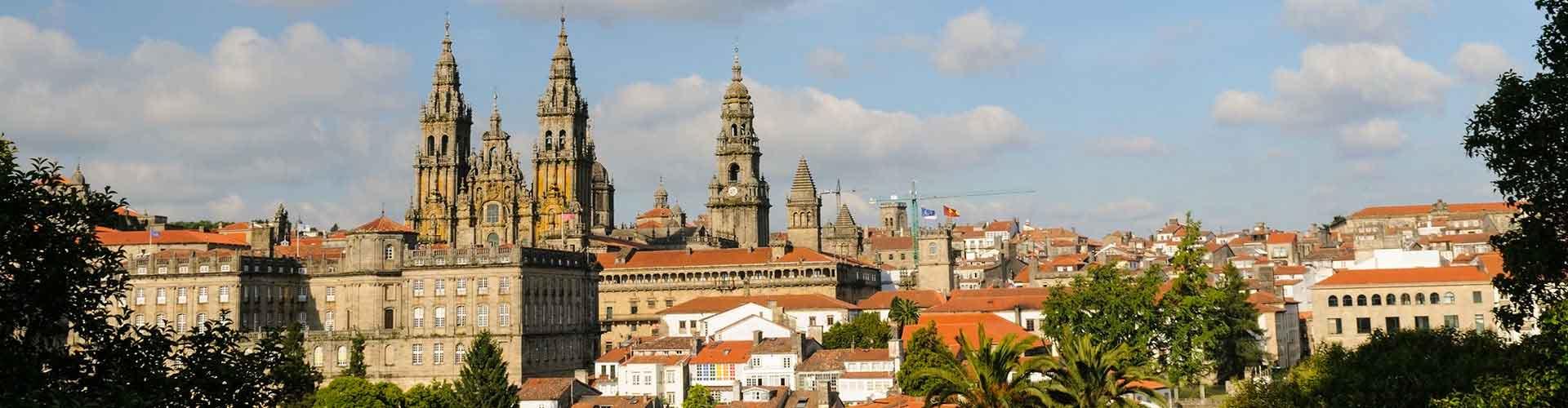 Santiago de Compostela – Hostels in Santiago de Compostela. Santiago de Compostela auf der Karte. Fotos und Bewertungen für jedes Hostel in Santiago de Compostela.