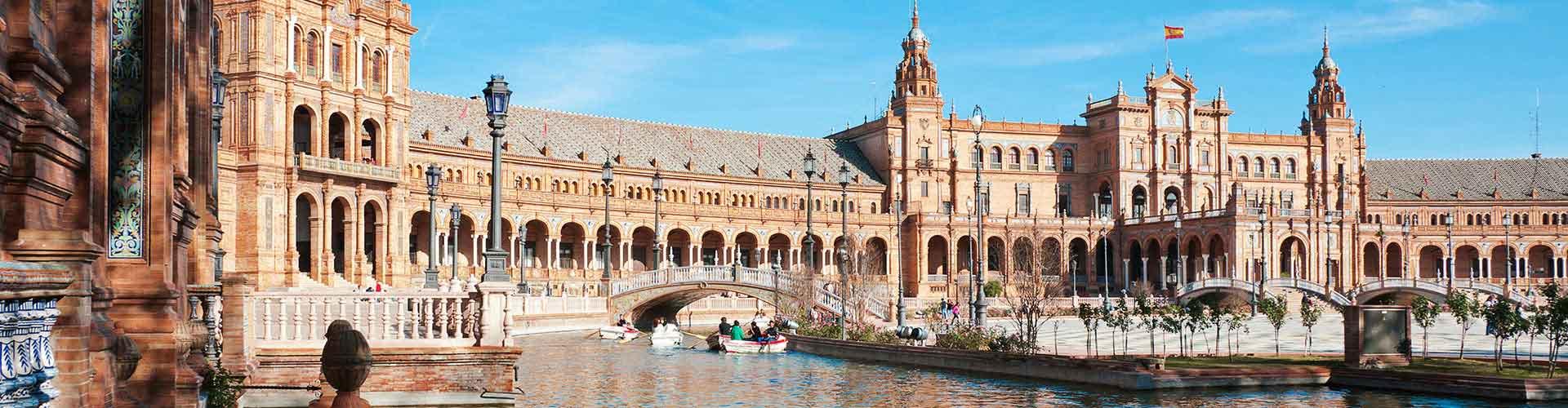 Sevilla – Hostels in Sevilla. Sevilla auf der Karte. Fotos und Bewertungen für jedes Hostel in Sevilla.
