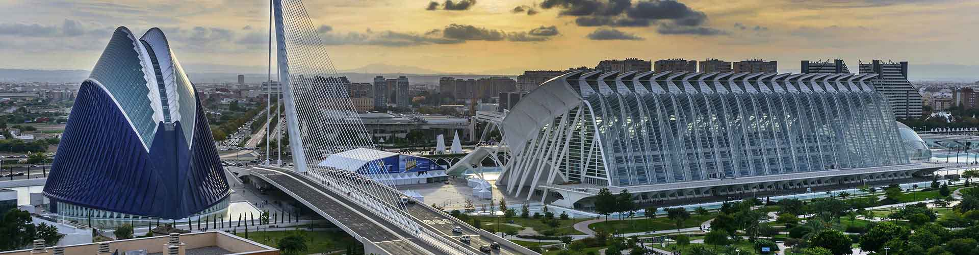 Valencia - Apartments nahe Flughafen Valencia. Valencia auf der Karte. Fotos und Bewertungen für jedes Apartment in Valencia.