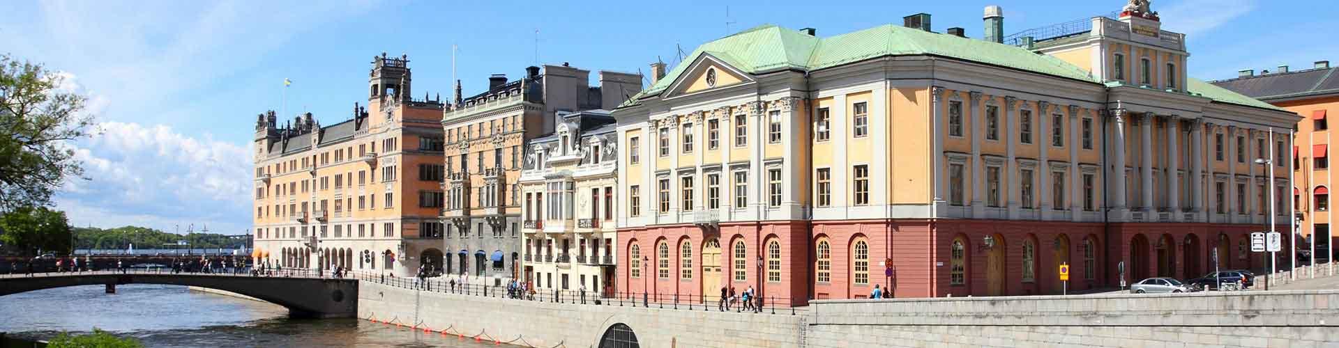 Stockholm – Hostels im Stadtteil Norrmalm. Stockholm auf der Karte. Fotos und Bewertungen für jedes Hostel in Stockholm.