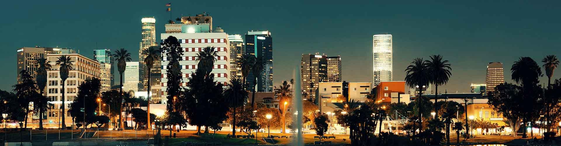 Los Angeles - Zimmer nahe Union Station. Los Angeles auf der Karte. Fotos und Bewertungen für jedes Zimmer in Los Angeles.