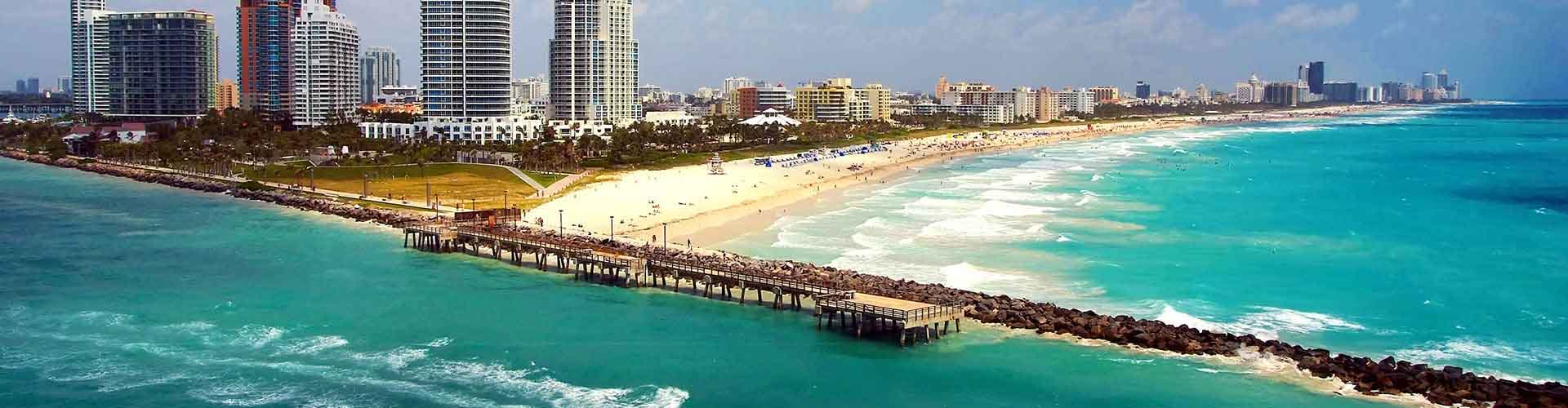 Miami – Hostels in der Nähe von Internationaler Flughafen Miami . Miami auf der Karte. Fotos und Bewertungen für jedes Hostel in Miami.