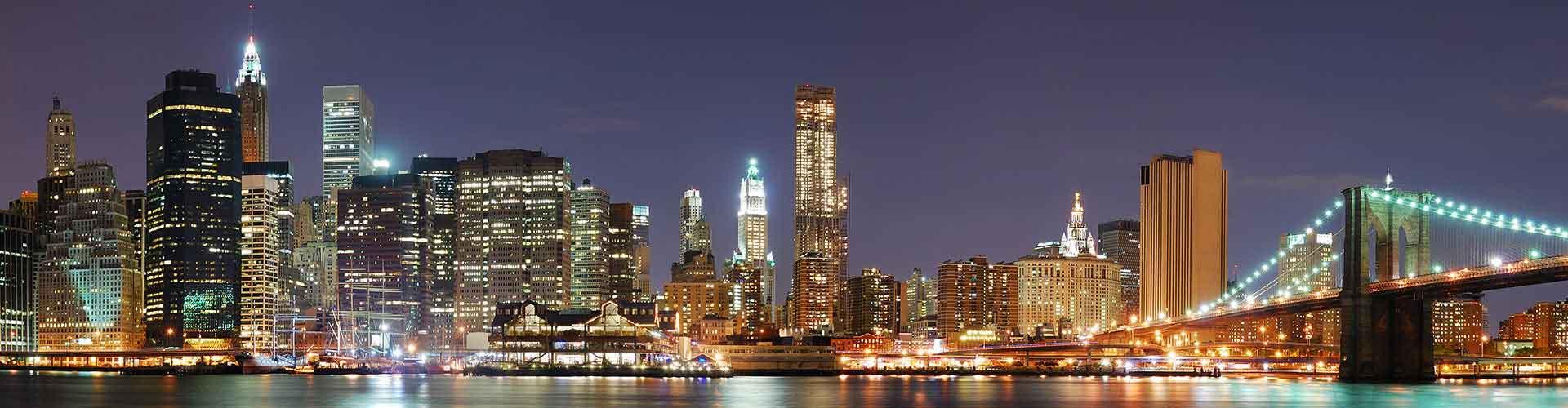 New York – Hostels in New York. New York auf der Karte. Fotos und Bewertungen für jedes Hostel in New York.