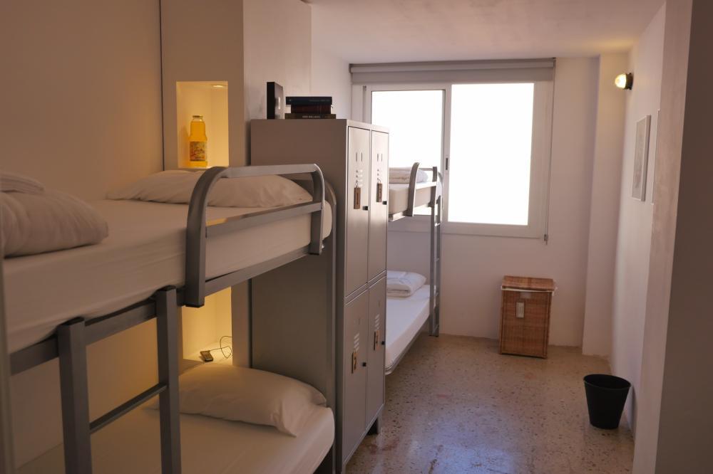 Gemischter Schlafsaal mit 4 Betten