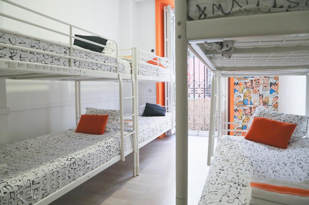 8-Personen-Schlafsaal für Frauen