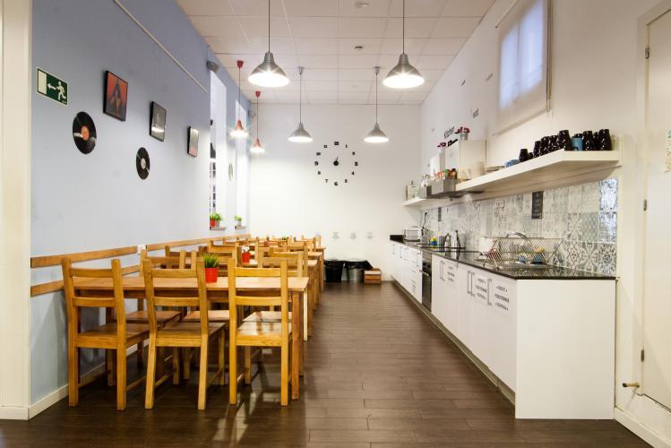 360 Hostel Arts&Culture; Küche