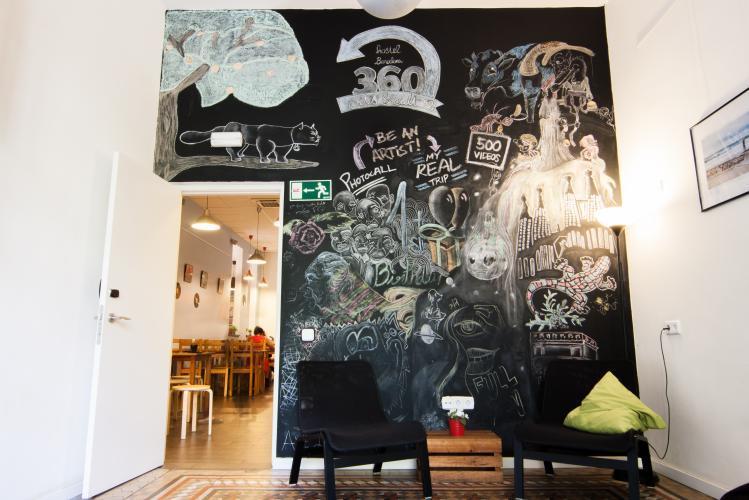 360 Hostel Arts&Culture; Gemeinschaftsbereich