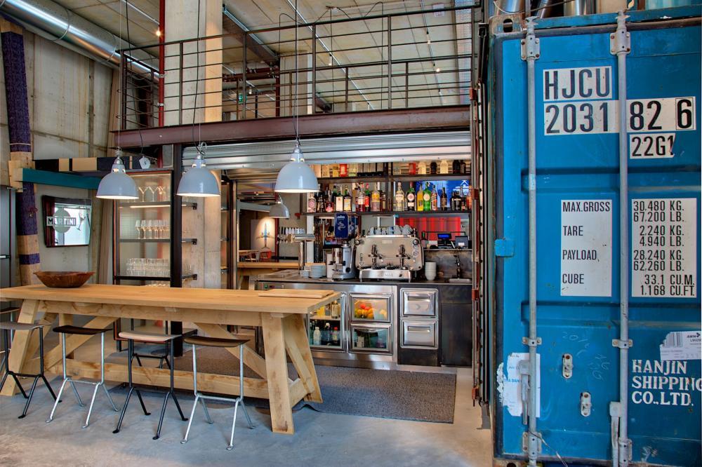 Unser modernes Café & Bar