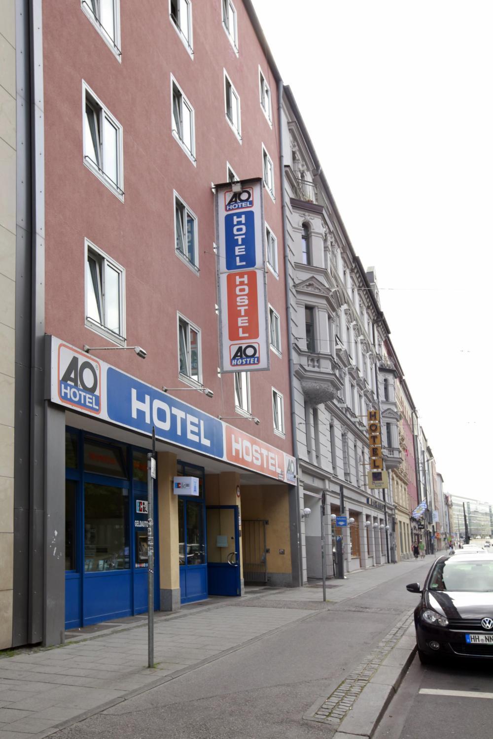 A&O München Hauptbahnhof Hostel Fassade