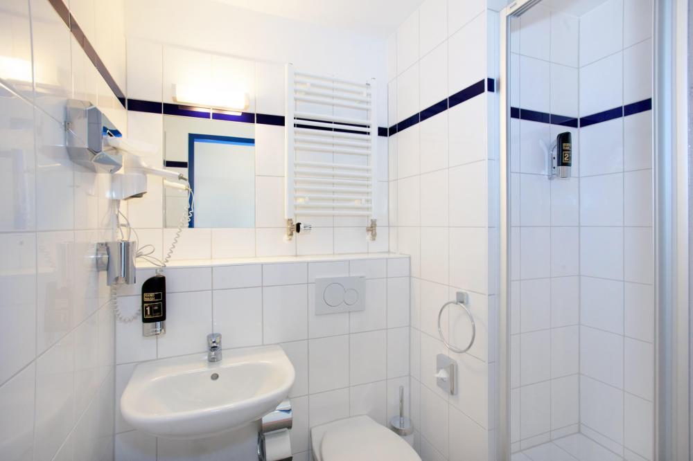 A&O München Hauptbahnhof Toilette/Dusche