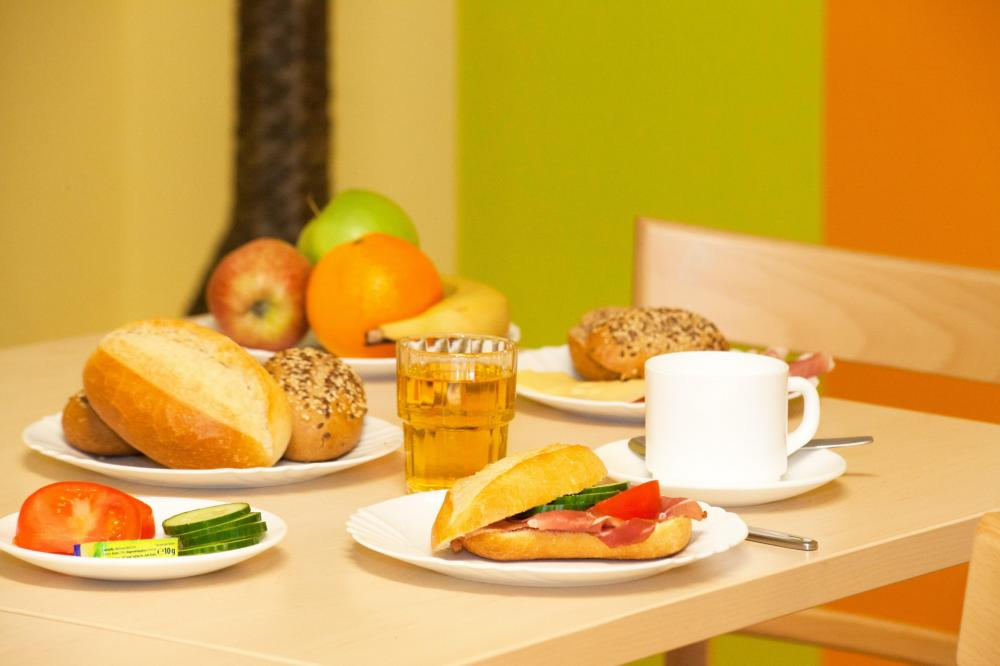 A&O München Laim Hostel Frühstück
