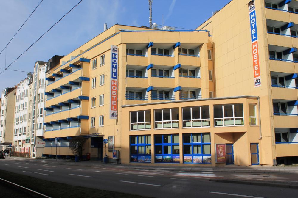 A&O München Hackerbrücke Gebäude