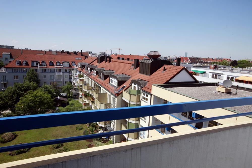 A&O München Hackerbrücke Hostel Dachterrasse
