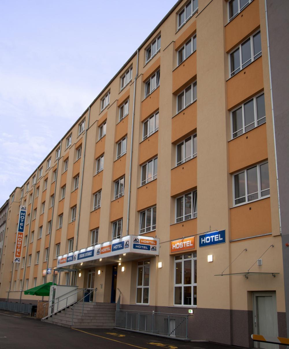 A&O Wien HB Hostel Gebäude