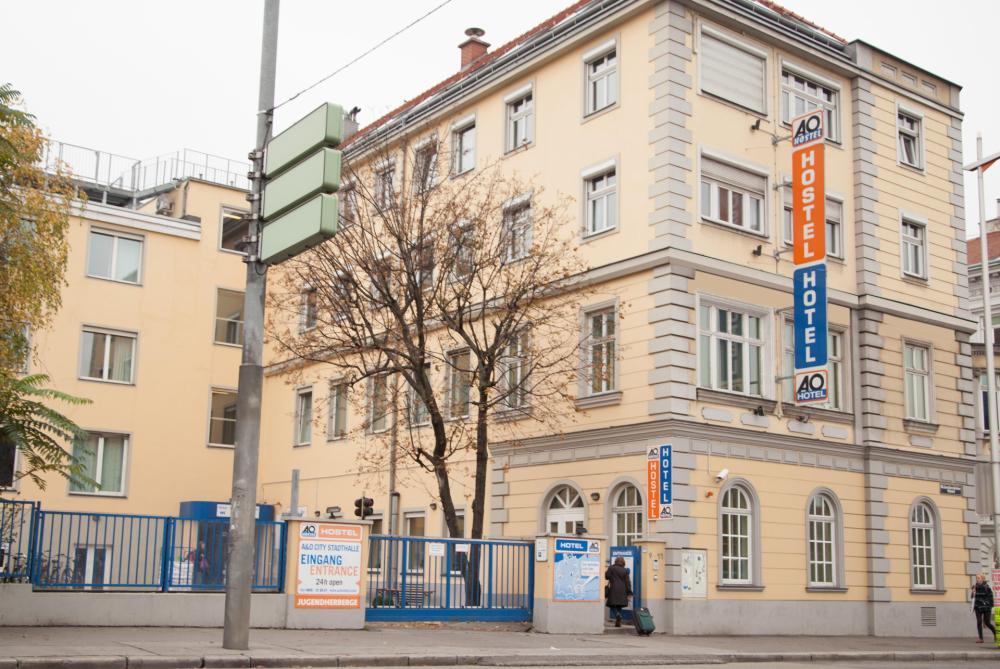 A&O Wien Stadthalle Fassade