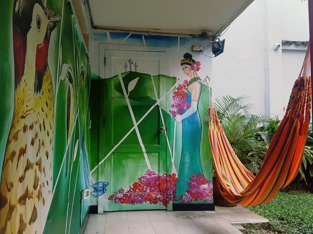 Räume mit Kunst