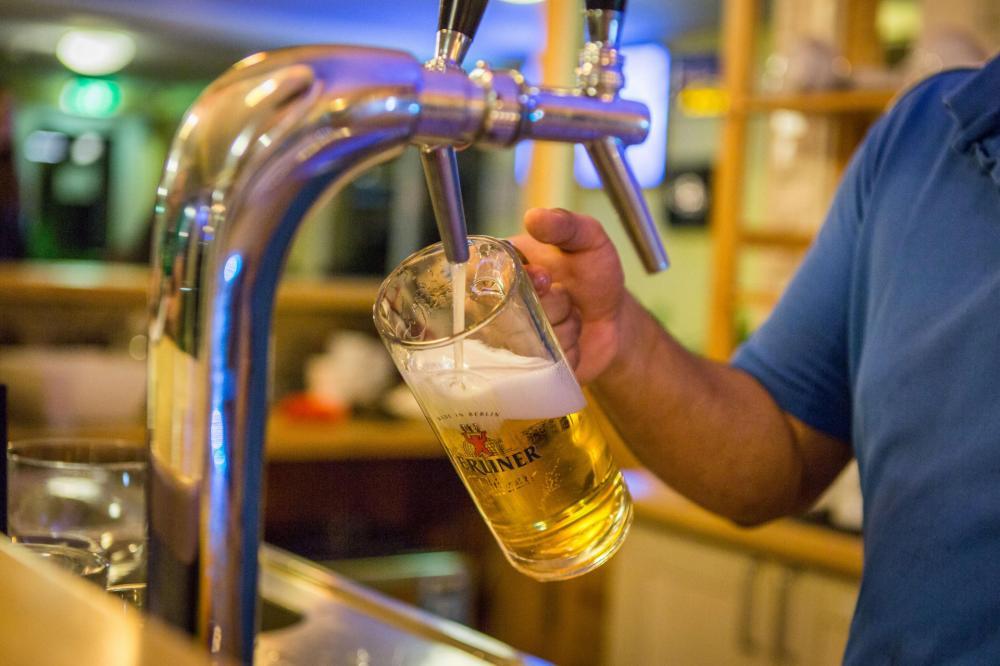 Bier und noch mehr Bier!