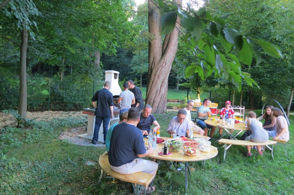 HI Munich Park Hostel Grillen