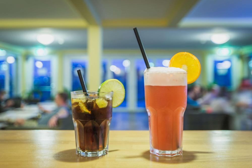 Wir machen auch leckere Cocktails