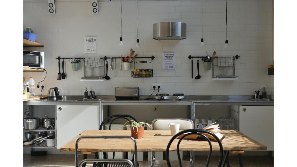 JAM Hostel Küche