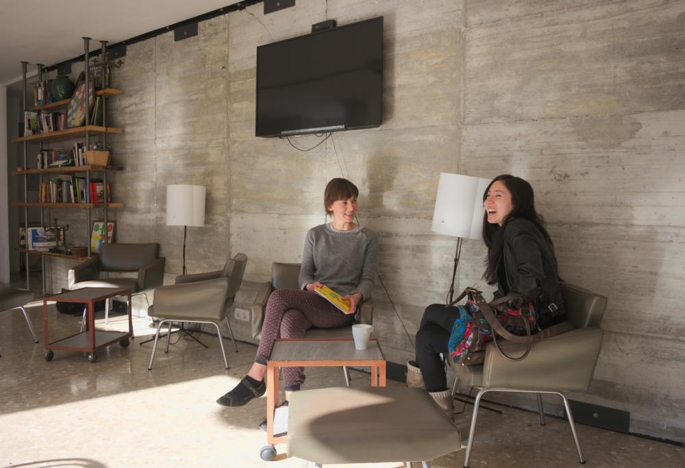 JAM Hostel Lounge und TV
