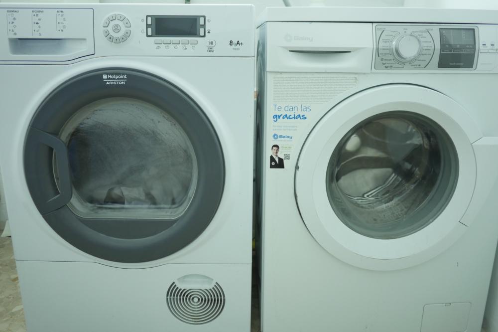 Wasch- und Trockenmaschine