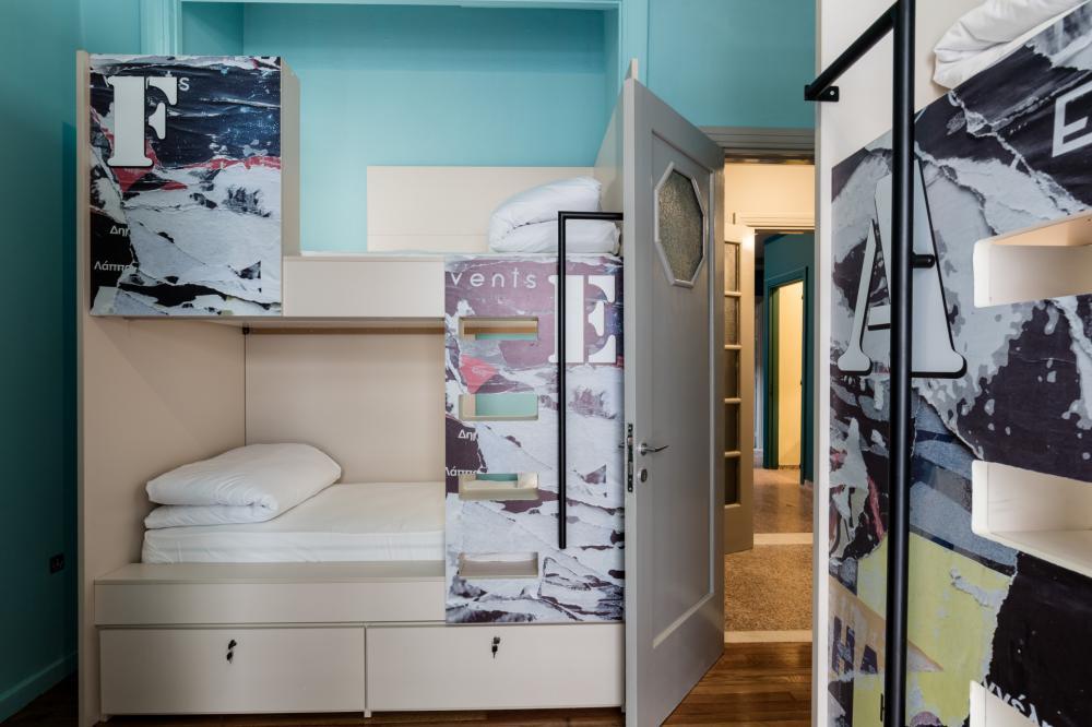 Private Schliessfächer unter jeden Bett