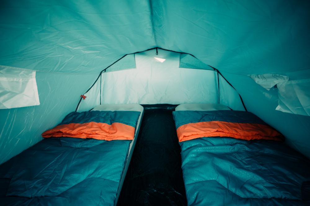 Privates Zelt für zwei Personen - Ein Quechua-Zelt für 3 Personen