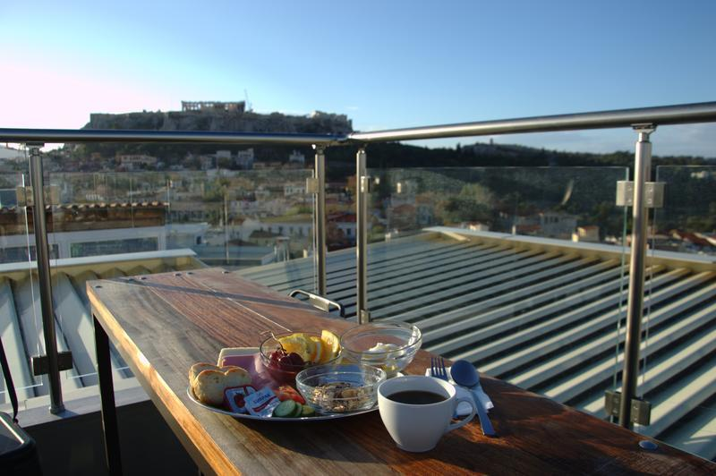 Frühstück und Ausblick