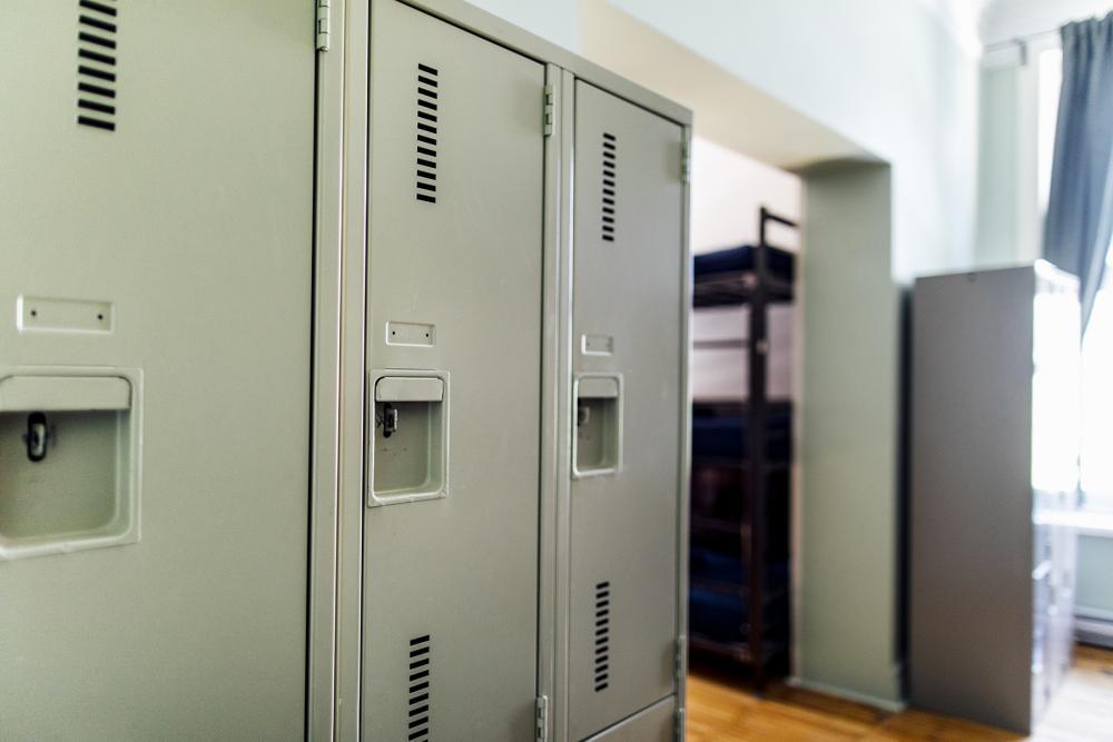 Sicherheitsschliessfächer in den Zimmern