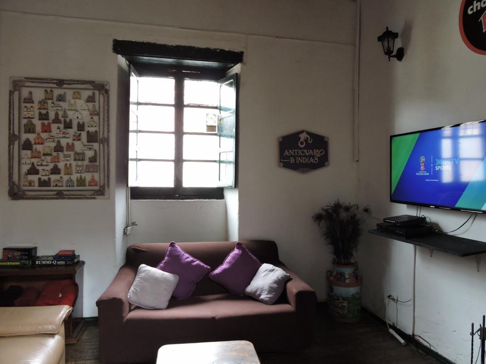 Unser Gemeinschaftsraum mit Direct-TV