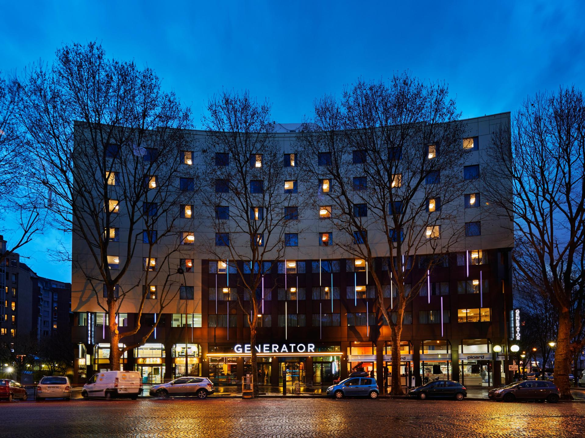 Hotel Avenue Malakoff Paris