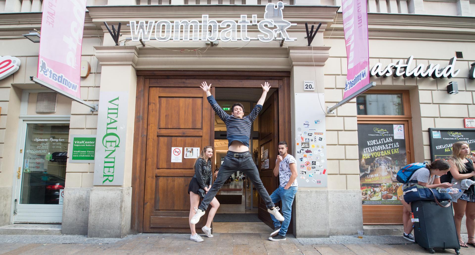 Wombat's CITY Hostel - Budapest