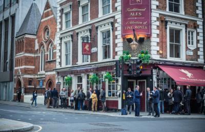 Hostels und Jugendherbergen - St Christopher's Inn, Liverpool Street